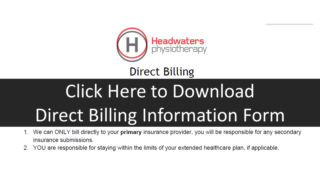 Direct Billing Patient Info