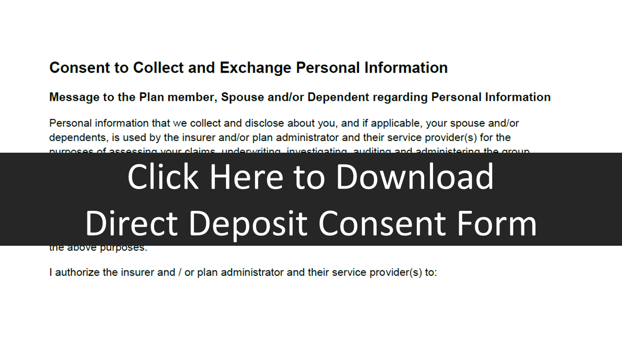 Direct Billing Consent