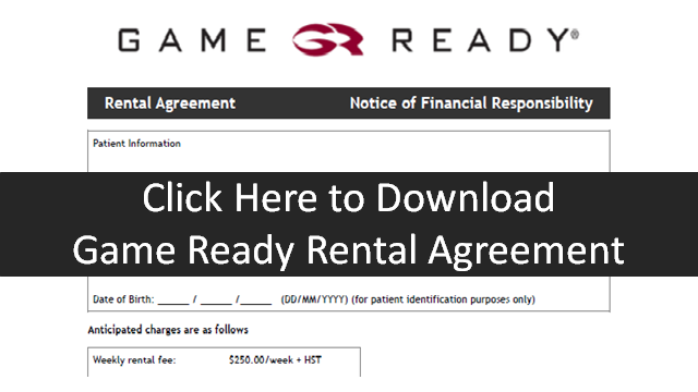 Game Ready Rental Agreement